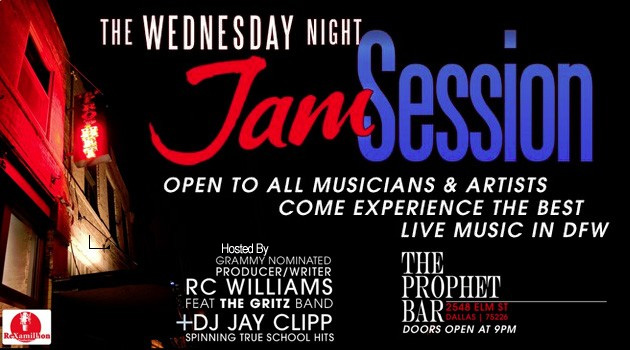 Wednesday Night Live Jam Sessions @ The Prophet Bar  | Dallas | Texas | United States